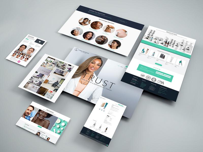 Steele Dermatology Website Revamp web design woocommerce wordpress georgia atlanta dermatologist