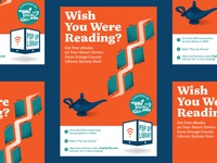 Pop Up Library Poster