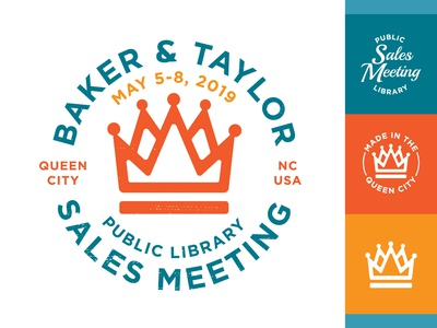 2019 Public Library Sales Meeting Branding