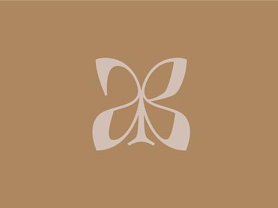 AB monogram monogram branding simplicity logo logotype lettering typography design vector