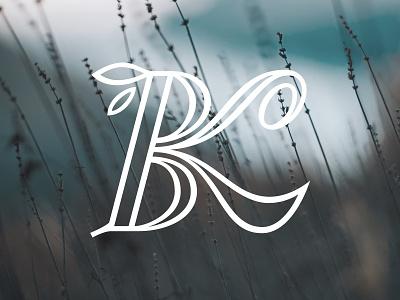 BK monogram monogram simplicity graphic branding logotype typography lettering vector design logo