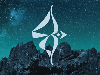 Cyrillic monogram IZ illustration logo vector lettering typography personal logo monogram