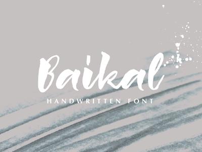Baikal Handwritten Font
