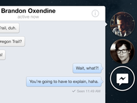 Facebook Chat Heads – OSX
