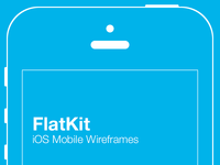 Flatkit – iOS Mobile Preview