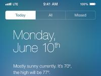 Ios7 notifications
