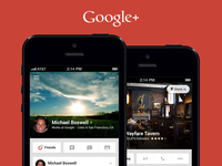 Google+ Profiles (iOS Mobile)