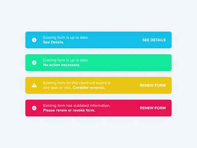 Alerts visualdesigner visualdesign alert warning ux uikit ui design ui trend toaster toast success notification message creativedesign