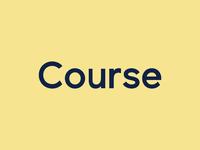 Course Wordmark