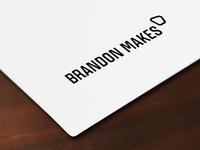 Brandon Makes Logo Alternate