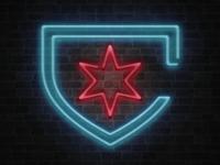 Chicago Red Stars Neon Logo
