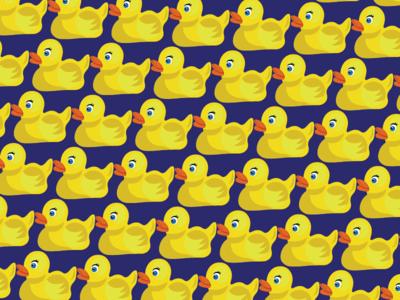 Ducky Tie Pattern