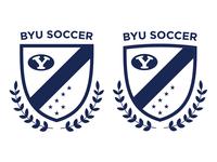 BYU Soccer Crest