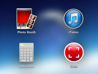 Scan Mac OS X App Icon (potential)