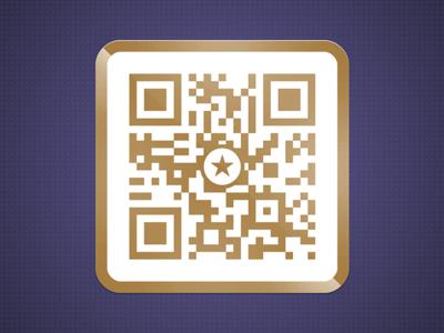 The Golden QR Code - Scan to Win!