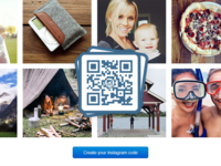 Instagram QR Codes by Scan