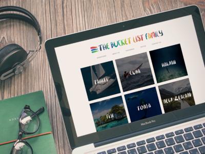 The Bucket List Family - Website