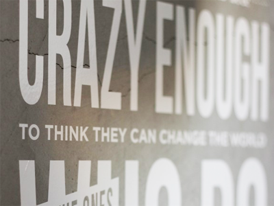 Steve jobs crazy ones quote