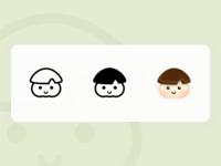 Buns face-Mushroom