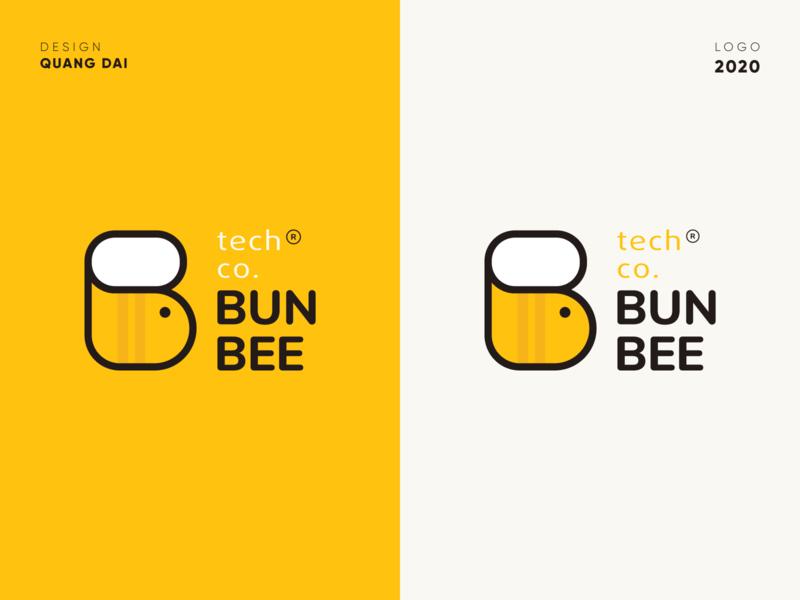 Logo Idea For Bunbee Company vector design management logo idea logodesign icon application ui logo ui branding design branding
