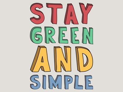 Green And Simple