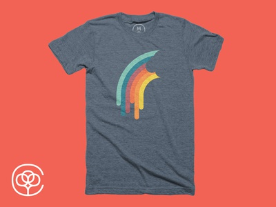 Melting rainbow, Cotton Bureau