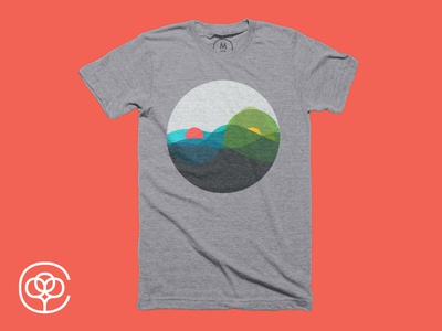Sunrise vs Sunset, t-shirt