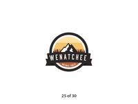 #ThirtyLogos Challenge Day 25 - Wenatchee