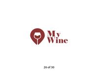 #ThirtyLogos Challenge Day 26 - My Wine