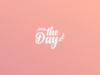 The Day  Wedding Agency Logo