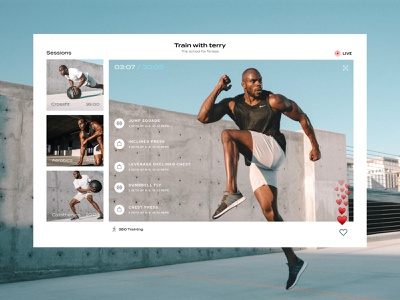 Fitness and Well being - Responsive Web design interface ui sketch figma adobe xd mobile ui trainer live session website web interface web app mobile app app health well being fitness train training