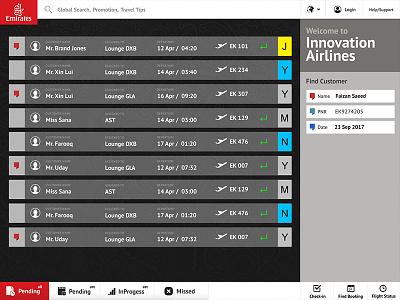 Emirates airline windows ios ipad emirates creativity faizan saeed innovation centre design user interface
