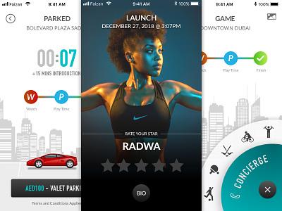 Local Games ratings car uae faizan parking games design dubai app design creativity concept ux ui