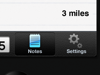 WIP: Mobile App glyphish ios mobile texture iphone