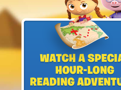 Super Why! Around The World Adventure pbs learn video kids tv ui css3