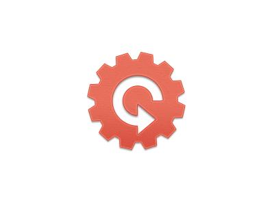 Symbol Enhancements logo cog design startup symbol tech texture