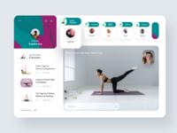 Yoga Live Class Design Concept