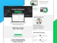 Double Your Sales, Sales Page