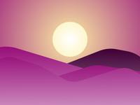 Sunrise Vector Illustration