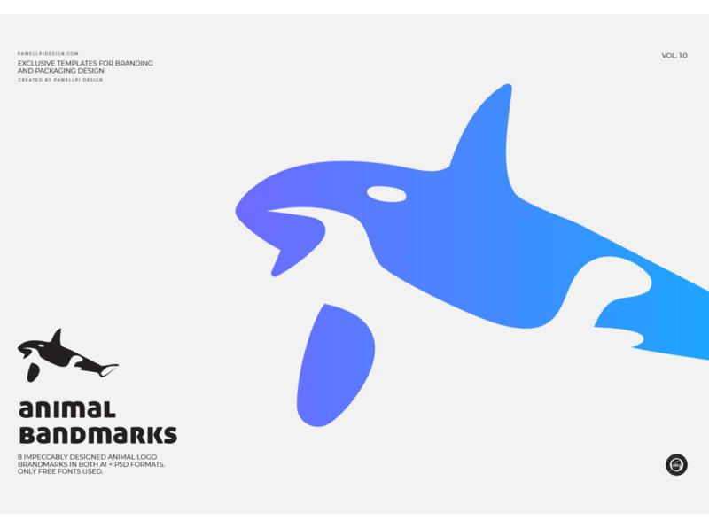 animal brandmark (shark) pawellpi collection premium branding free mock-up free mockups free download download for free free mockup free psd free logo freebies freebie free logo sharks shark