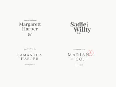 24 elegant femenine logos vol 8 0 presentation 08