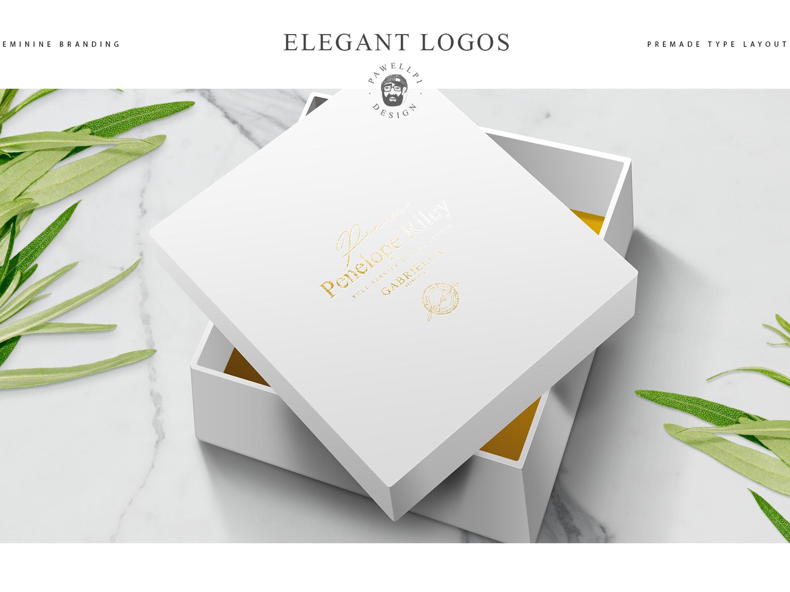Elegant Premade Logo Templates By Pawellpi Design Dribbble - Logo layout templates