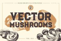 FREE VECTOR MUSHROOMS