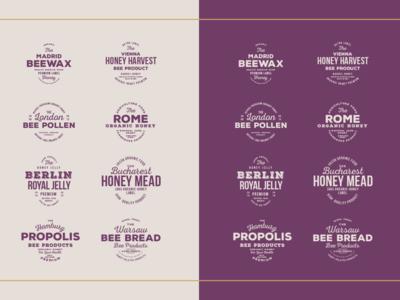 Emblems honey