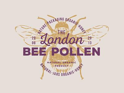 VINTAGE EMBLEMS VOLUME 4 honeycomb bee label beer label beetle honeymoon honey bee honeybee honey the bundle elegant logo high end design pawellpi collection premium branding bee