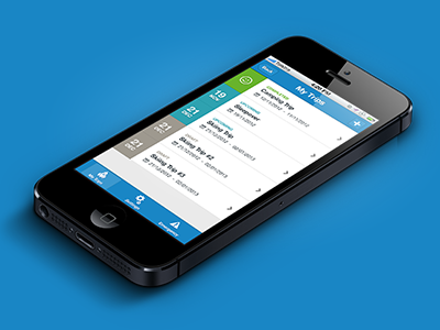 Trip Planner Application iphone app trip planner