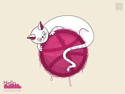 Hello Dribbble - Catribbble