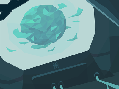 Taming the State in React low poly lab react
