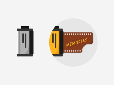 Infogravy | Camera Film Icon