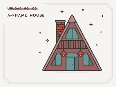 Infogravy | A-frame House